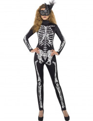Costume da scheletro donna