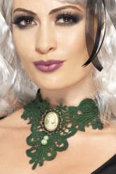 Collana verde donna