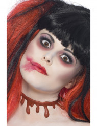 Girocollo macchia di sangue adulto Halloween