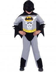 Costume Batman™classico argentato bambino