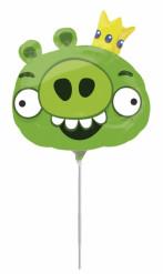 Palloncino alluminio verde Angry Birds™