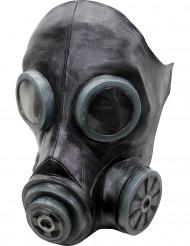Maschera a gas nera adulto