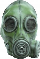 Maschera a gas verde adulto