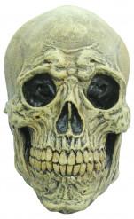 Maschera scheletro spaventoso adulto Halloween