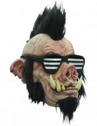 Maschera cinghiale punk adulto