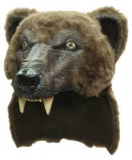 Maschera orso bruno adulto