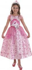 Costume Barbie™ principessa pastello bambina
