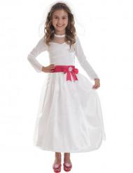Costume Barbie™ sposa bambina