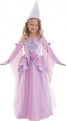 Costume principessa rosa e lilla bambina