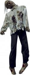 Corpo zombie impiccato