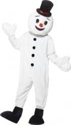 Costume deluxe da omino di neve adulto Natale