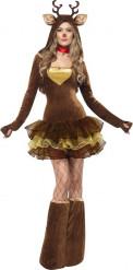 Costume renna sexy donna