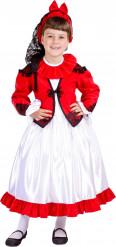 Costume tradizionale spagnola bambina