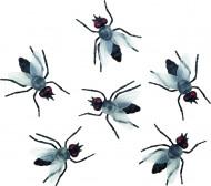 Decorazione mosche nere Halloween