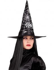 Cappello strega nero Halloween donna
