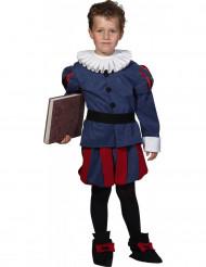 Costume poeta rinascimentale bambino