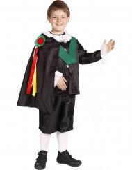 Costume cantante tradizionale spagnolo bambino