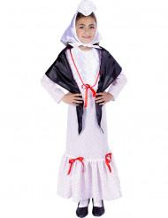 Costume tradizionale spagnolo bambina