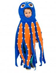 Costume polpo multicolore bambino