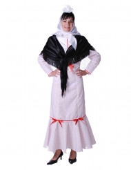 Costume da paesana del folklore spagnolo per adulto
