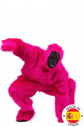 Costume gorilla rosa adulto