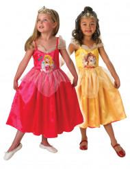 Costume reversibile Belle™ ed Aurora™ per bambina