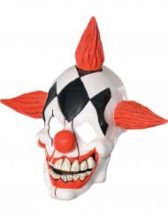 Maschera in latex da Clown adulto