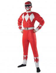Costume power rangers adulto