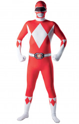 Costume seconda pelle Power Rangers™ adulto