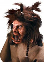 Maschera trucco troll Halloween adulto