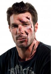 Trucco ferite da vetro