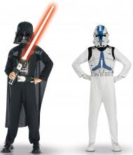 Costume Dart Fener e guardia imperiale Star wars™ bambino
