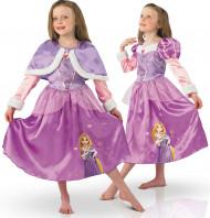 Costume principessa Raperonzolo deluxe bambina