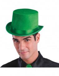 Cappello lusso verde adulto