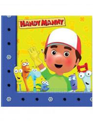 20 Tovaglioli di Carta Manny tuttofare™ 33 x 33 cm