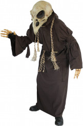 Costume scheletro avvoltoio adulto