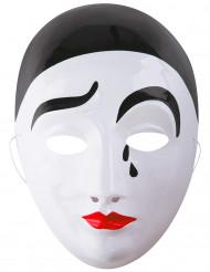 Maschera Pierrot adulto
