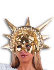 Maschera statua della libertà