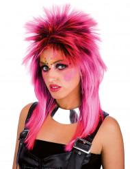 Parrucca da punk rosa
