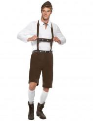 Costume bavarese edelweiss uomo