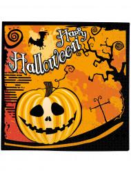 Confezione di 20 tovaglioli di Halloween