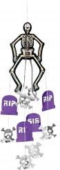 Decorazione da appendere scheletro e lapidi