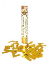 Cannone a coriandoli dorati