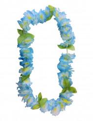 Collana di fiori hawaiana celeste