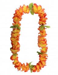 Collana di fiori hawaiana arancione!