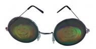 Occhiali metal con ologramma zucca