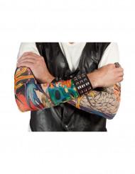 Maniche con finti tatuaggi finti