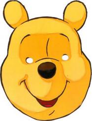 Maschera in cartone Winnie Pooh™