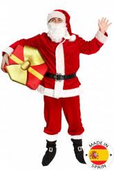 Costume Babbo Natale deluxe adulto - Premium