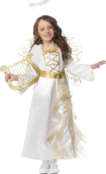 Costume angelo di natale bambina